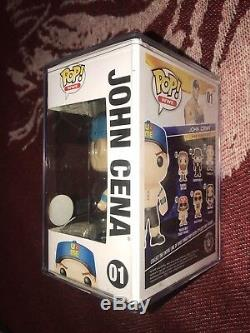 WWE Funko POP John Cena WWE Live Event Exclusive EXTREMELY RARE BLUE HAT