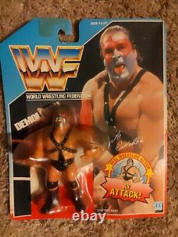 WWF Hasbro blue card Demolition Ax 1990 Extremely rare