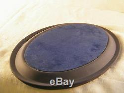Wedgwood Portland Blue Jasper Ware Desk Tidy, Superb & Extremely Rare!