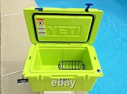 Yeti CHARTREUSE WITH BLUE Trim Tundra 45 Cooler Extremely RARE NWT