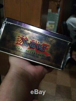 Yugioh Blue-Eyes White Dragon 2003 New Tin GEM MINT Extremely RARE FactorySealed